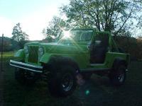 1982 CJ 8 Jeep Scrambler Total Frame Off Restoration