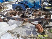 CJ frame for CJ 7/ wrangler, with axles, as seen in