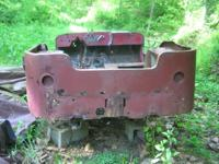 post war era Willys CJ2A tub with shovel and axe