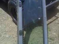 New windshield glass, frame, wiper motor. Complete and