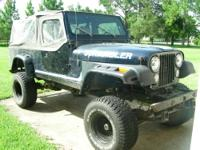 Scrambler 1981 *********** Offroad only 4.2 258 6cyl,