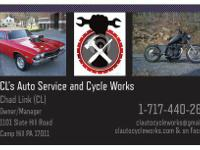 Your one stop for general auto/cycle repair and