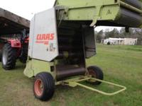 Baler in excellent condition, never used commercially,