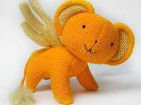 Brand New Card Captor Sakura: 8'' Knitted Kero-Chan