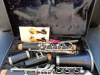 Clarinet For Sale. Great Condition, taken well care of.