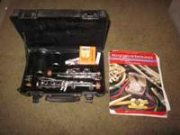 Clarinet by Artley, in good condition, used for student
