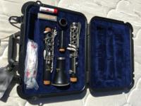 Selmer CL300 clarinet. Made in USA. Hard shell case