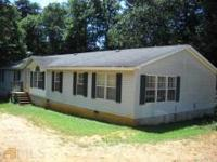 Double Wide Mobile home on 16.45 Horse Farm. Large and