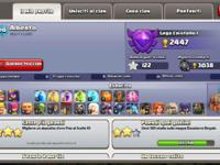 Clash of clans village - level 110 - Townhall 10 - High