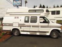 1994 FORD FALCON CLASS B VAN MOTORHOME MODEL M-190 *