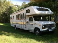 55K miles, rear bedroom, overhead queen, AC/furnace,
