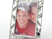 "Metal 4""x6"" graduation picture frame from Kohl's"