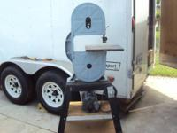 "Classic 12"" Bandsaw with stand Single Phase 110 volt"