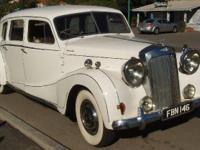 Timeless 1952 Austin Sheerline A125 limo, British