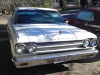 Beautiful 1965 Rambler Marlin, one of a kind. 287 V8