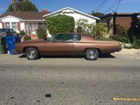 Classic 1973 Chevy Caprice with racing engine in need