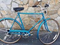 Classic 1979 Schwinn World Tourist 7 speed Beach