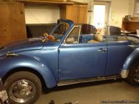 I have a classic Bug convertable, it runs and drives, I