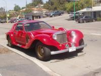 Traditional 1985 Spartan. Customized automobile