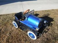 Like New Classic Child's Metal Pedal Car - 1929 Ford