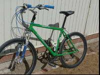 This is truly a classic mountain bike. The end of an