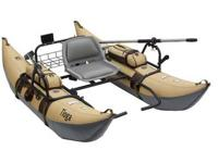 I have a new classic accessories Tioga fishing pontoon