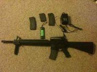 I am selling my Classic Army/Armalite M15A4 (M16) . It