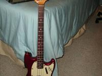 Offering my Vintage Fender Mustang Bass. It's a