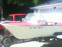 Its a 1965 mercury boat pretty nice. New seats that