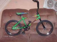 "Here is a retro like, 16"" Huffy "" Tracker"" It has that"