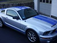 2008 Mustang GT500KR with 296 miles,all of the