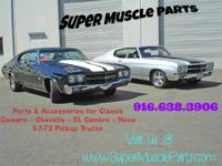 SUPER MUSCLE PARTS Located in Rancho Cordova,