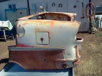 Rear section of 50's Chevy. Best offer. Cash Only. Tom