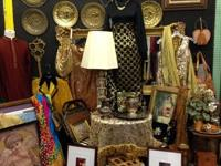 Lion Antiques and Savannah's deals Vintage Apparel,