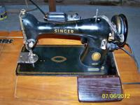 This Antique machine (AL962977) has not been used for