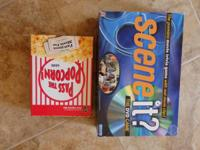 Both GREAT FAMILY FUN GAMES! (Movie trivia) Both in