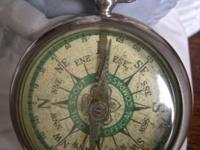 This antique gal scout compass revives some great ol'