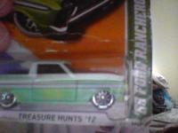 HOT WHEEL TREASURE HUNT FOR 50.00 DOLLARS. FINAL PRICE,