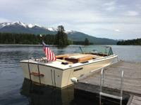 This 16' 1974 Century Resorter is a piece of inboard