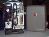 This is a great, vintage Kodak movie projector in