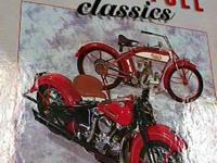 Classic Motorcycle Book   I also Have other Super Nice