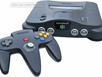 This is a classic Nintendo N64 system, complete with