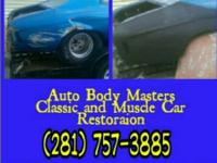 Auto Body Masters Old car restoration  show contact