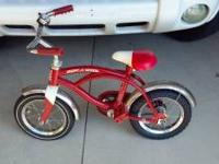 This Classic Radio Flyer Bicycle $45.00 Includes