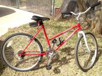 This is an older bike, possibly mid to late 90's. The