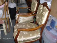 Classic Rosewood armchairs. Among them is in excellent