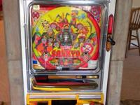 USED SANKYO PACHINKO DEVICE.  THIS EQUIPMENT IS PLACED
