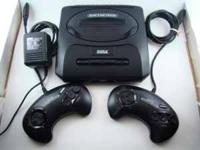 This is a classic Sega Genesis video game system...