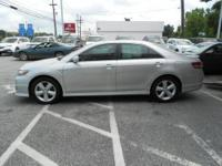 CLASSIC SILVER 2010 TOYOTA CAMRY SE SPORT