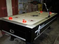 8ft x 4ft Classic Sport Air Hockey video game table w/